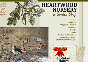 Heartwood Native Plant Nursery Pennsylvania Colorado Garden Horticultural Landscape Design Website